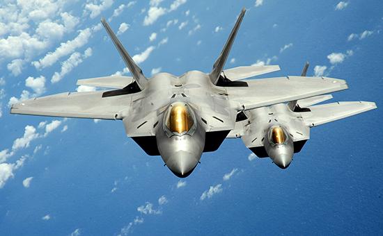 Истребители F-22 Raptor