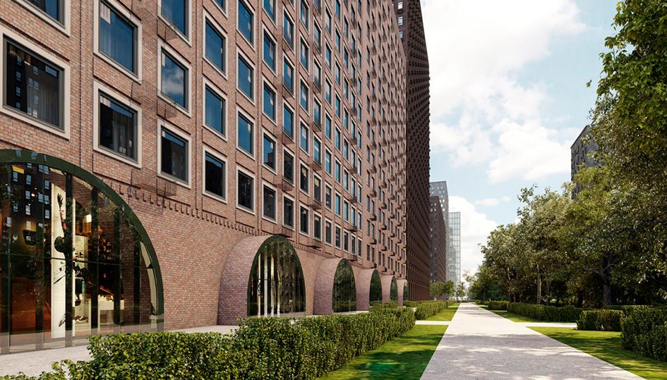Из портфолио архитектурного бюро Megabudka: ЖК «Мякининская пойма»