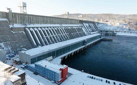 Красноярская ГЭС, принадлежащая En+ Group
