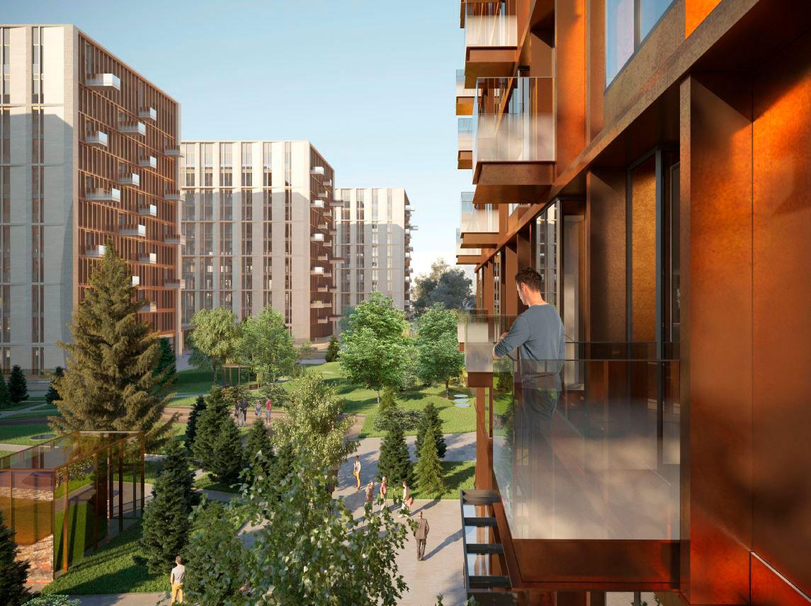 Столичные власти в 2016 году согласовали строительство гостинично-делового комплекса на 98,8 тыс. кв. м на месте недостроенного океанариума. В этом году СМИ сообщали, что компания Wainbridge выступит fee-девелопером нового комплекса. Компания достроит комплекс для акционера казахстанского БТА Банка Кенеса Ракишева, который является собственником проекта
