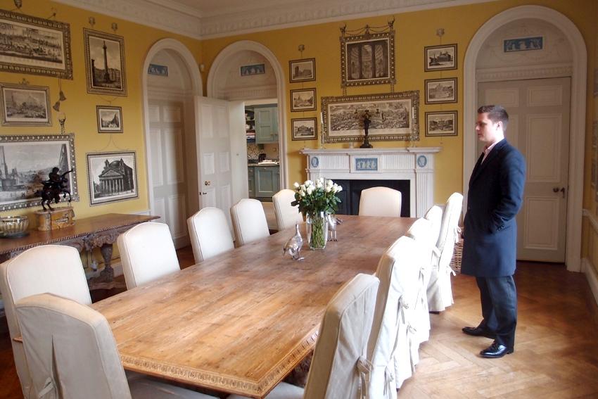 Семейный обеденный зал