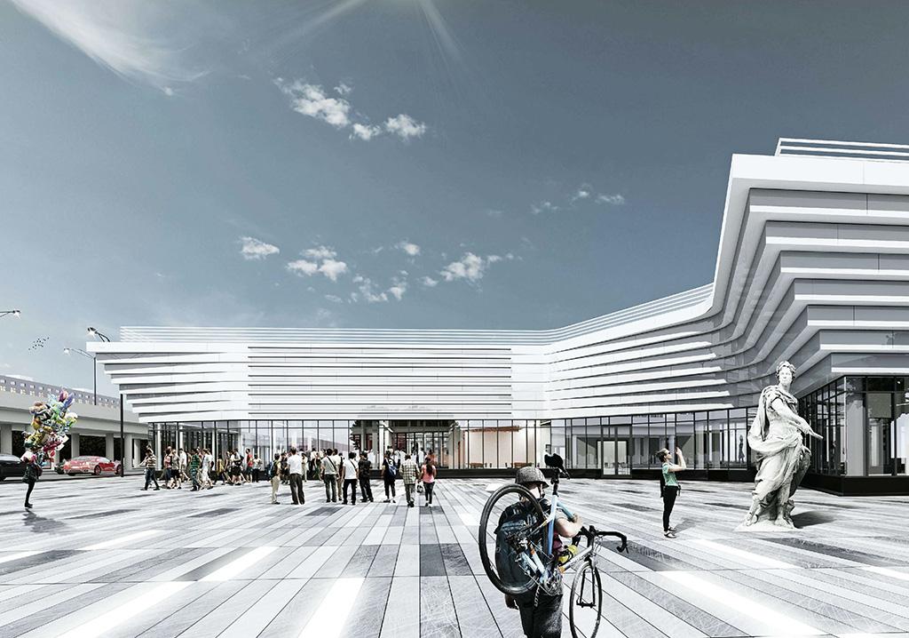 Проект многофункционального коммерческого центра на Новоясеневскомпроспекте