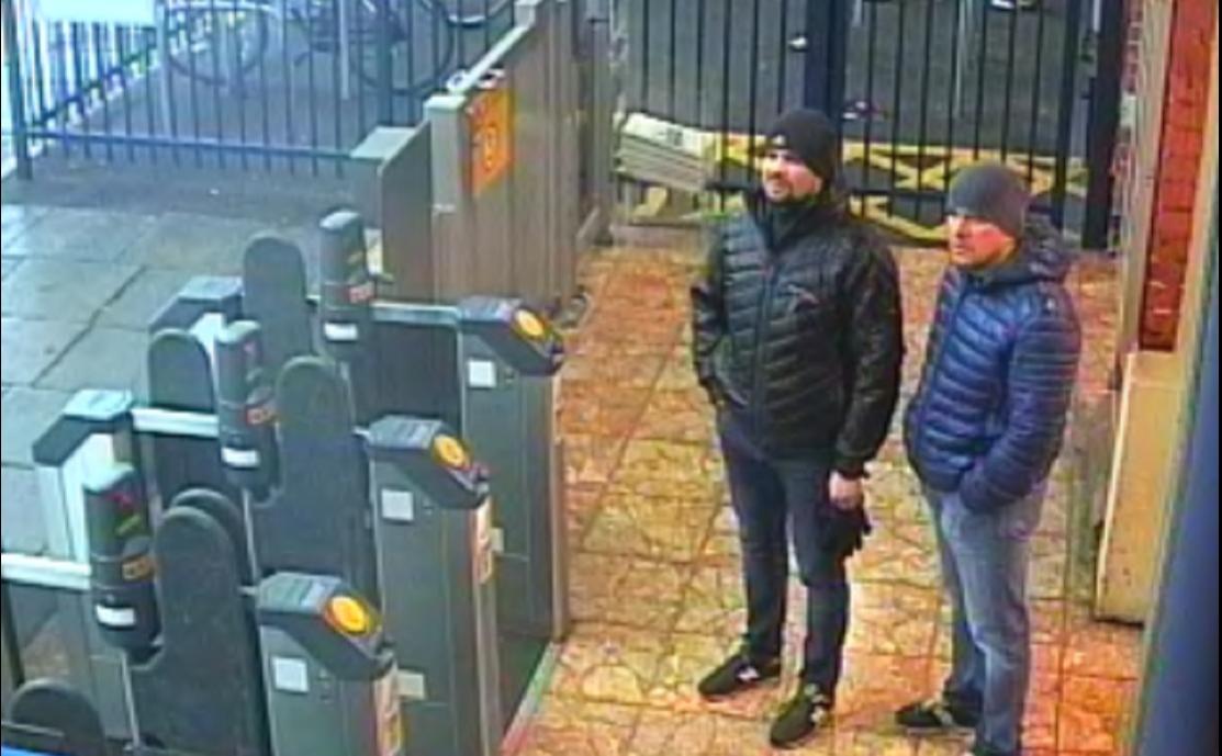 Александр Петров (справа) и Руслан Боширов (слева)