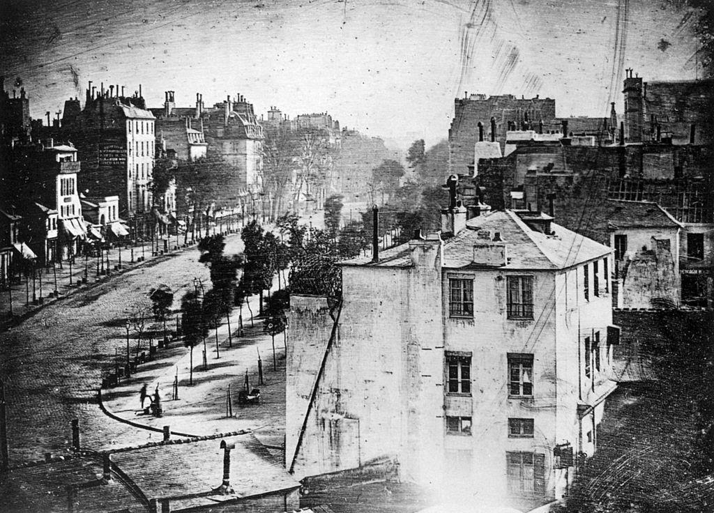 «Вид на бульвар дю Тампль»