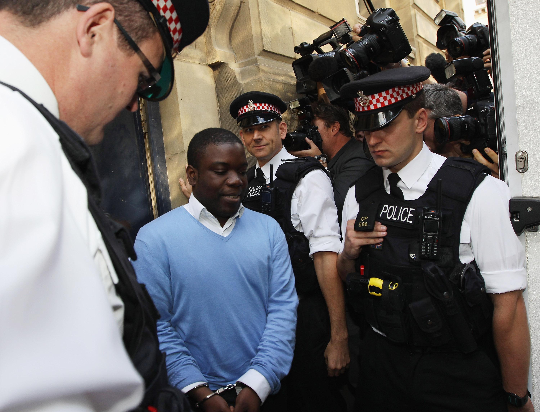 Адоболи на следующий день после ареста