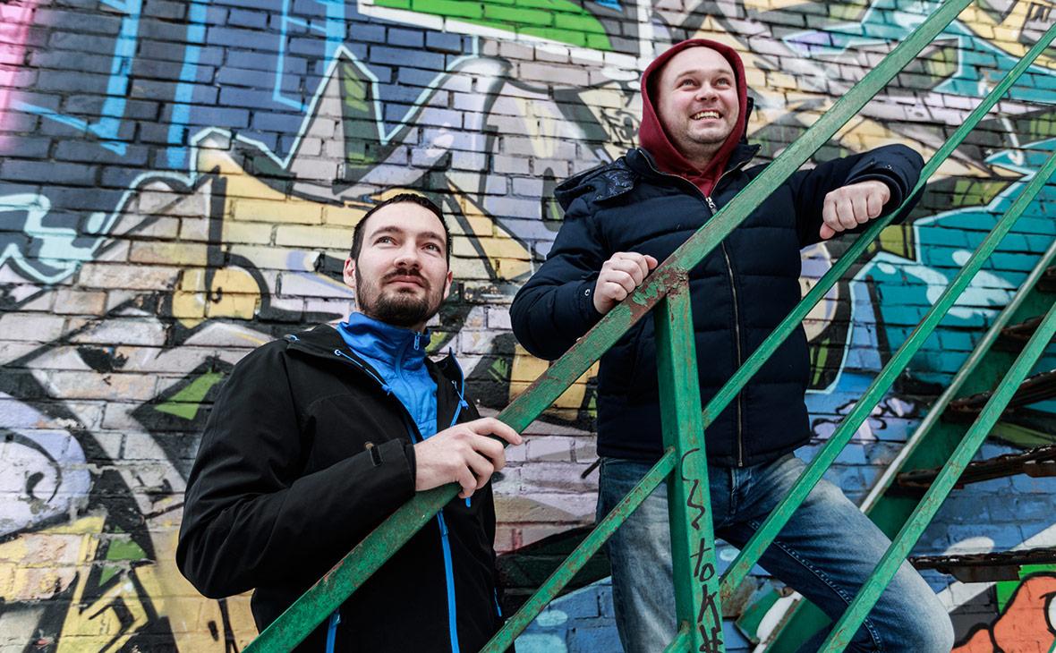 Игорь Красюк (слева) и Олег Бармин