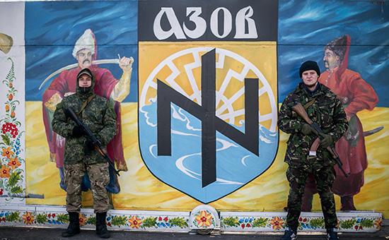 Архивное фото. Бойцы батальона «Азов»