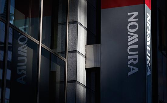 Логотип японской финансовой холдинговой компании Nomura
