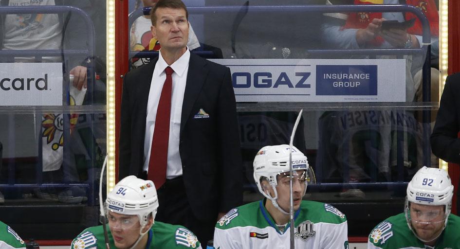 «Салават Юлаев» объявил об отставке главного тренера