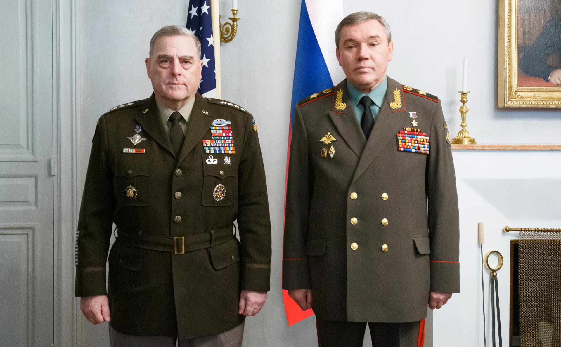 Марк Милли и Валерий Герасимов