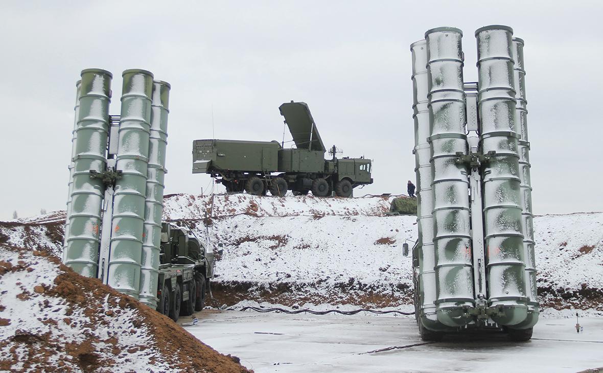 Дивизион зенитной ракетной системы (ЗРС) С-400 «Триумф»