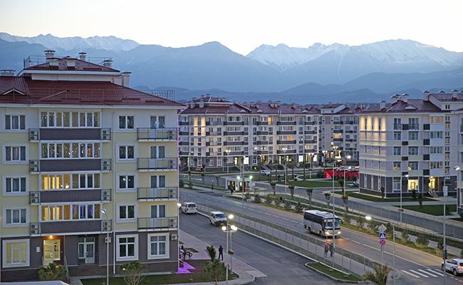 Олимпийская деревня вСочи, прибрежный кластер