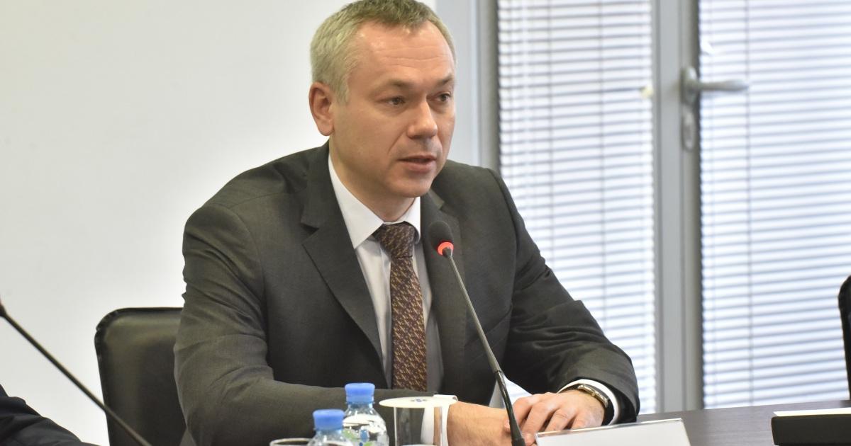 Фото главы администрации новосибирской области