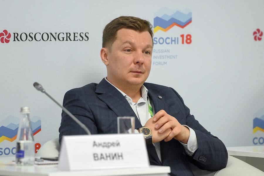 Вице-президент ПАО «Сбербанк» Андрей Ванин