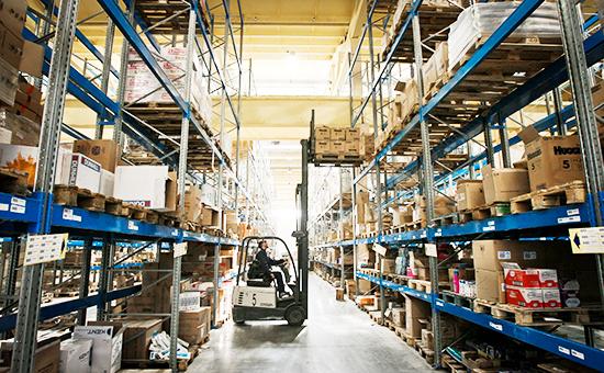 Распределительный центр компании «Холидей», занявшей 11 место рейтинга быстрорастущих компаний РБК