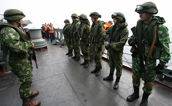 Военно-морские учения. Архивное фото