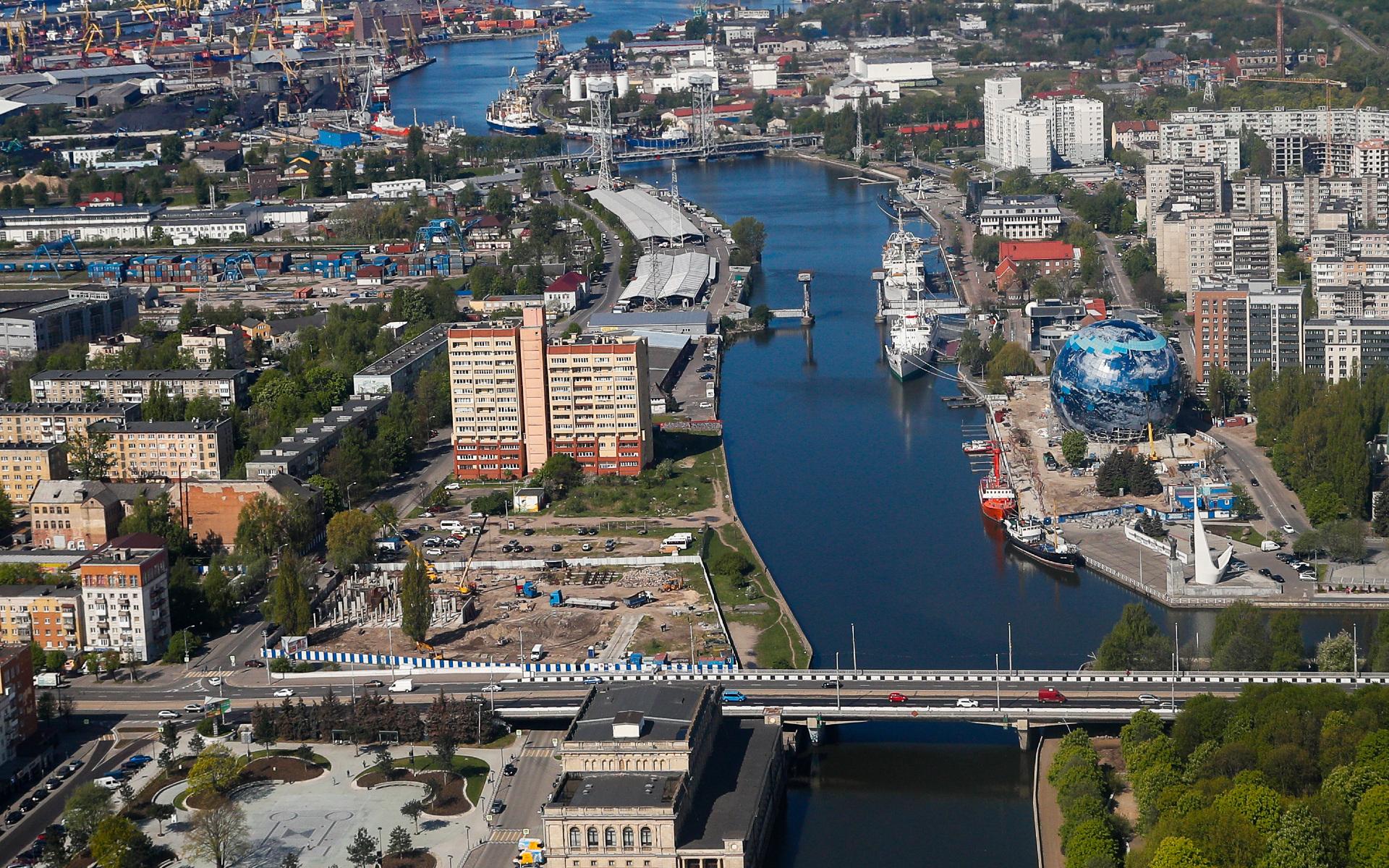 Вид на Калининград
