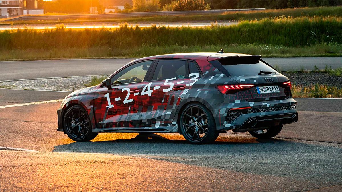 Новый Audi RS3