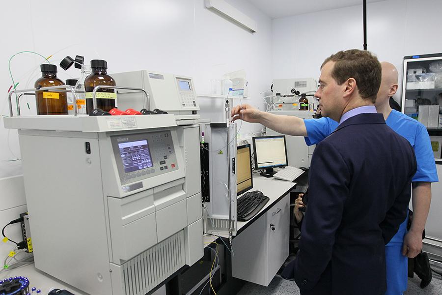Рабочий визит Дмитрия Медведева на завод «Генериума» во Владимирской области