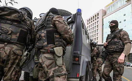 Турецкий спецназ. Архивное фото