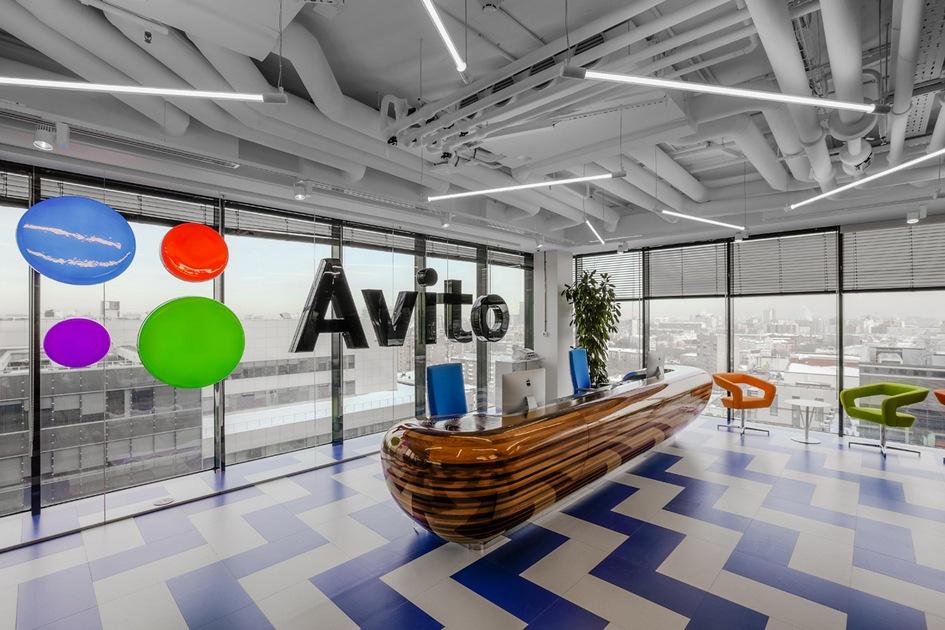 Номинация «Комфорт иэргономика» Офис компании Avito вМоскве / архитектурное бюро ABD architects