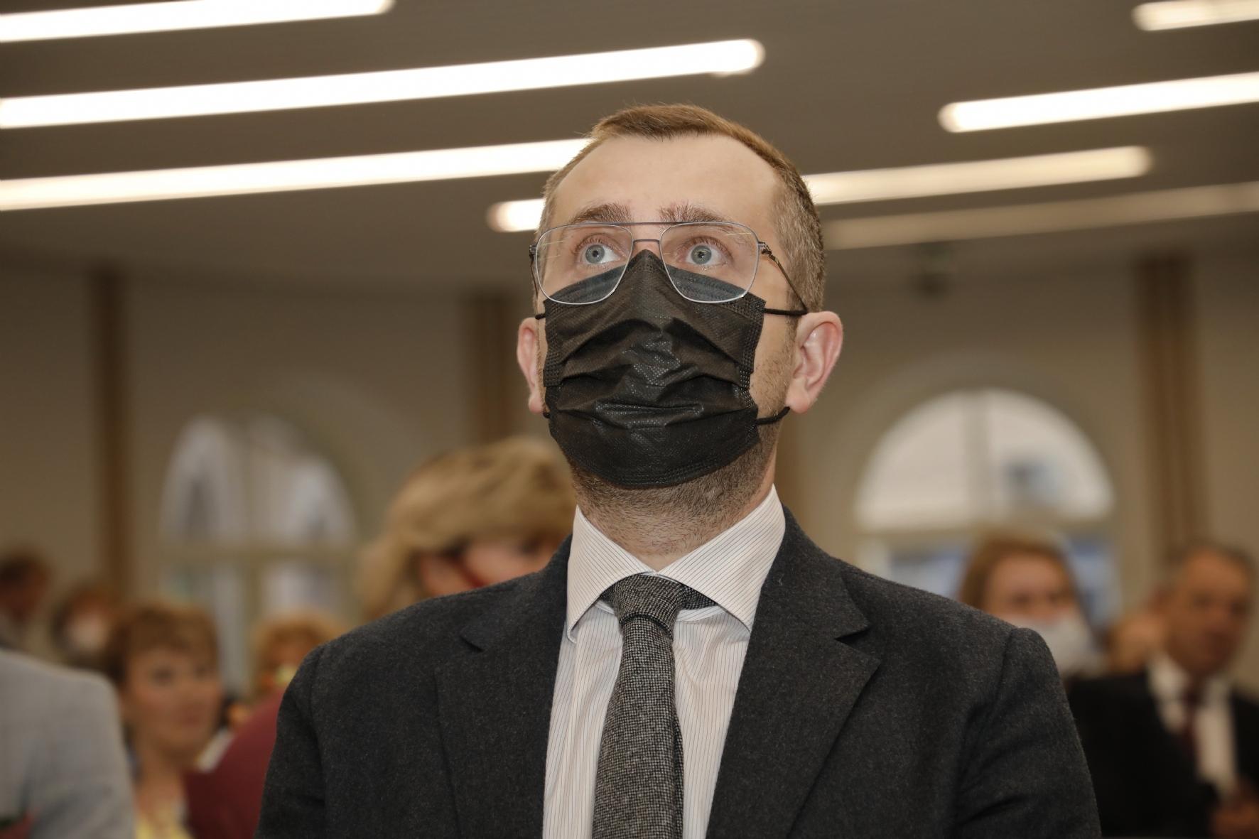 Вице-губернатор Борис Пиотровский