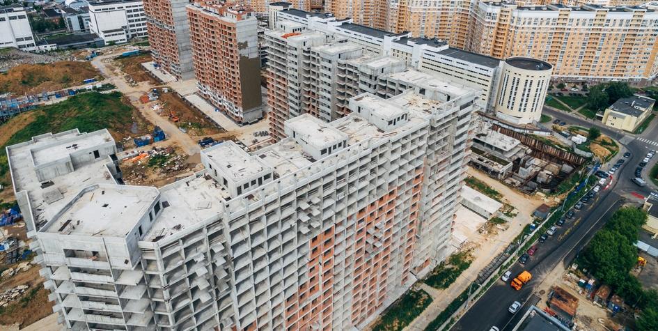 Строительство жилого комплекса «Царицыно» в Москве