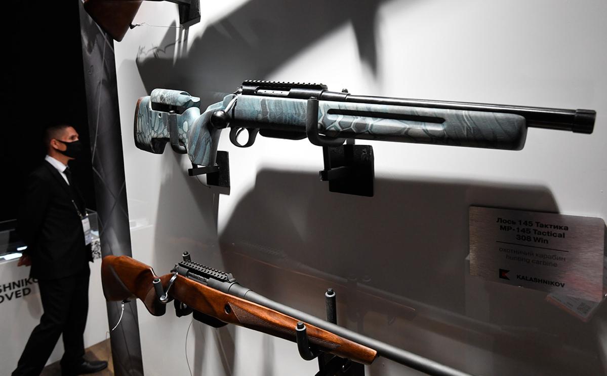 Охотничий карабин «Лось-145. Тактика»
