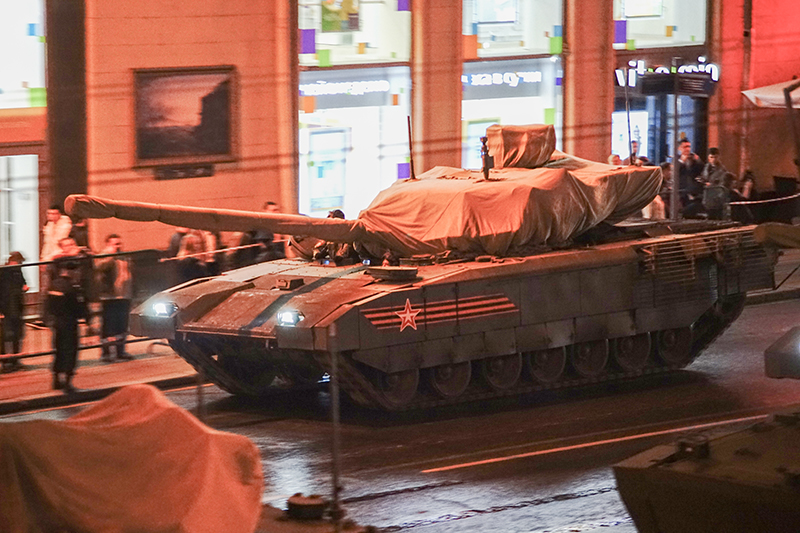 Средний танк «Армата»