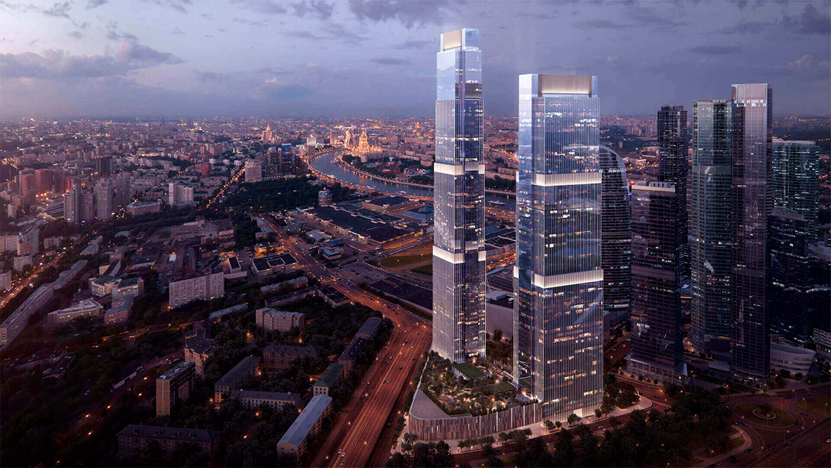 Neva Towers (Башня 2)  Этаж: 76-й Площадь: 238,8 кв. м Цена: 155,2 млн руб. ($2,5 млн)