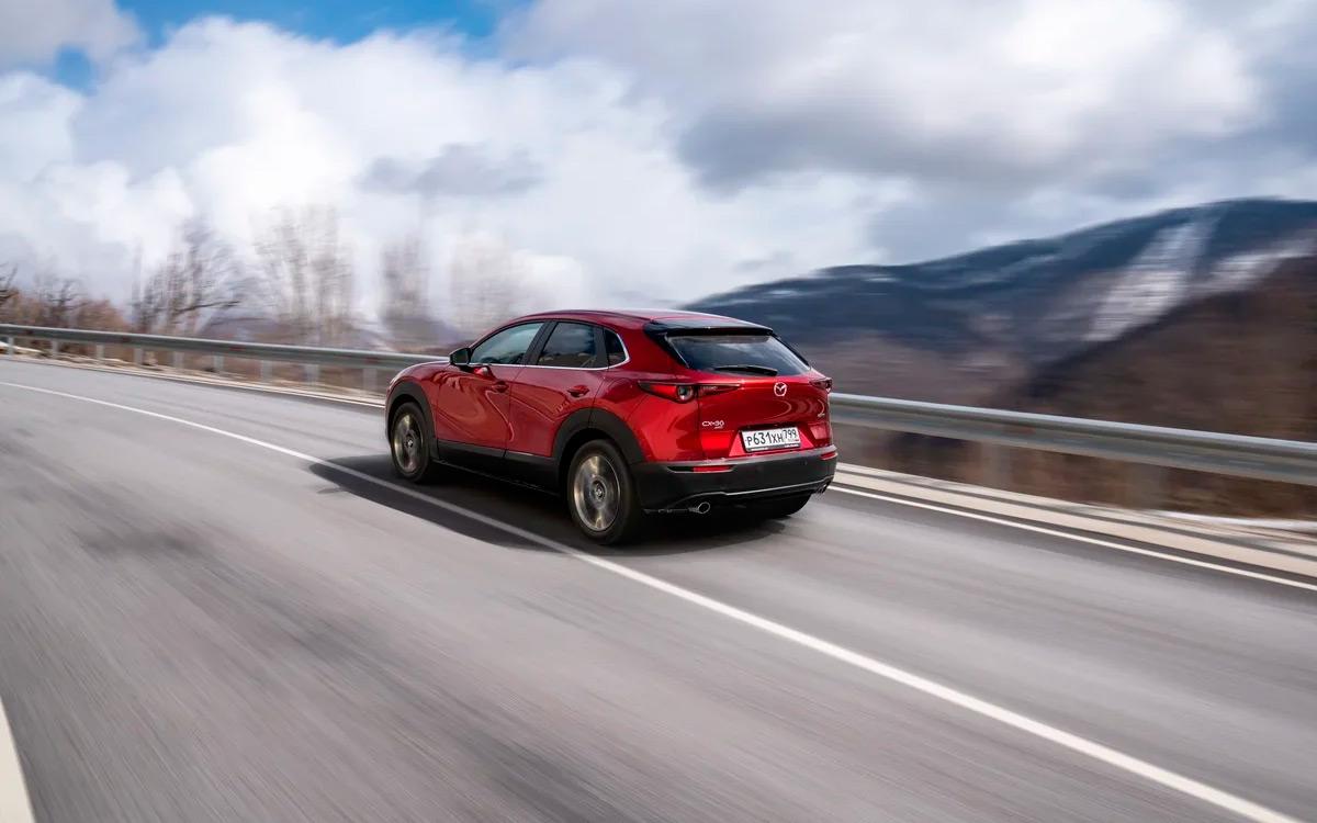 <p>Mazda CX-30</p>  <p></p>