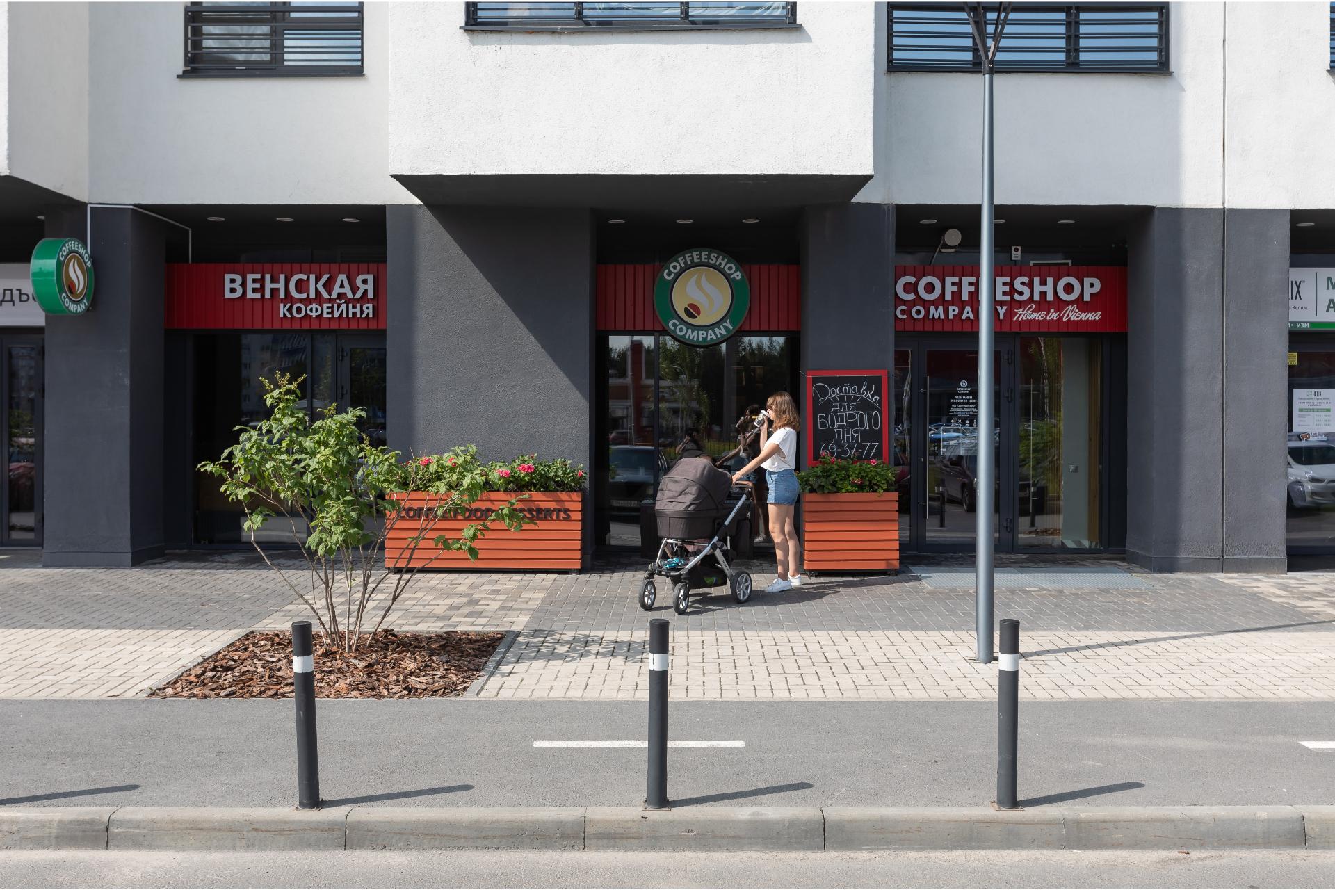 Пример оформления первых этажей в новостройках «Брусники» в Сургуте