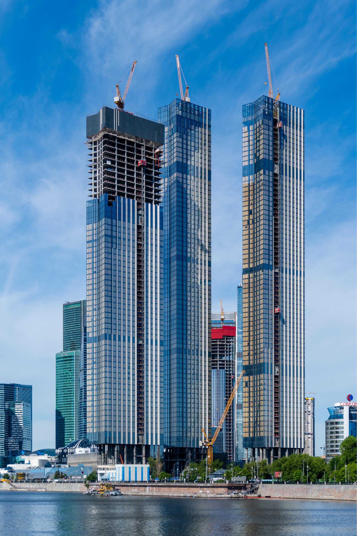 Строящиеся башни Capital Towers