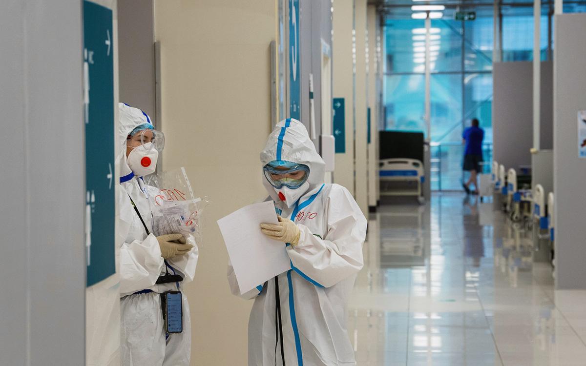 В Москве коронавирус выявили более чем у 2,7 тыс. человек