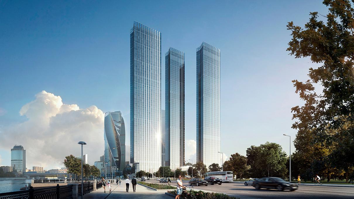 Capital Towers  Этаж: 61-й Площадь: 259,7 кв. м Цена: 160,9 млн руб. ($2,6 млн)