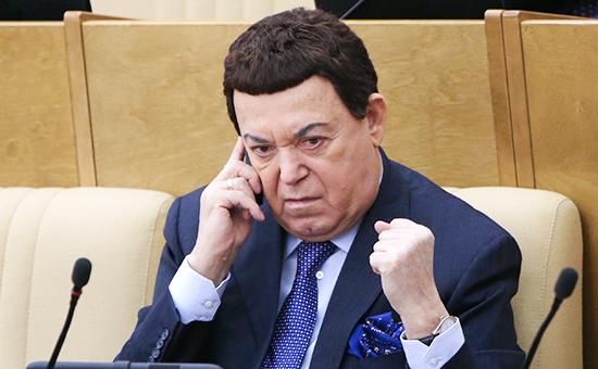 Певец и депутат Государственной думы Иосиф Кобзон