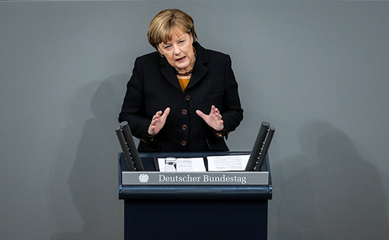 Канцлер ФРГ Ангела Меркель