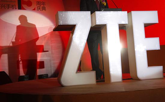 Логотипкомпании ZTE, одного из ведущих китайских производителей оборудования связи
