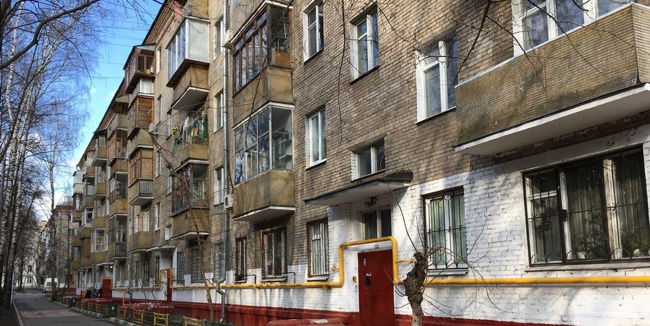 Хрущевка вмосковском районе Ивановское