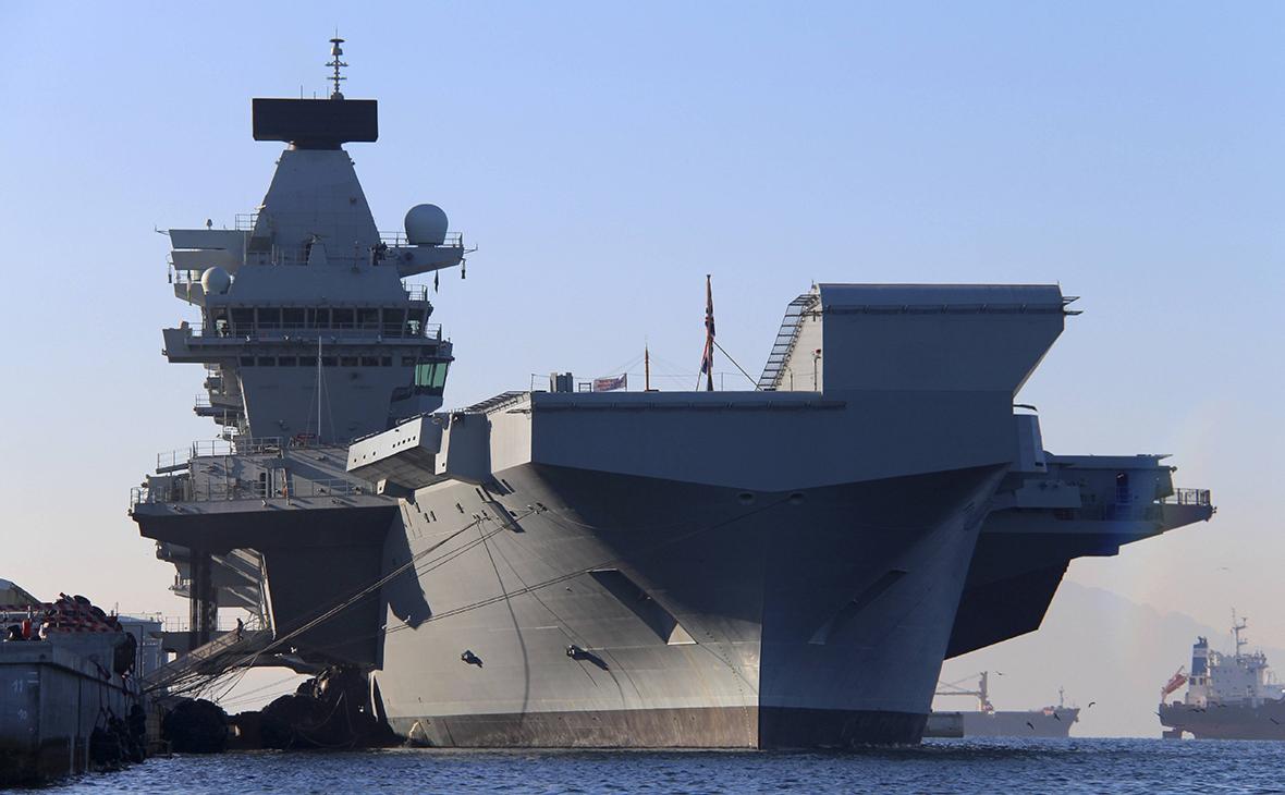 На флагмане британского флота произошла вспышка COVID-19