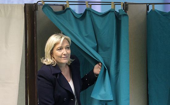 Глава ультраправой французской партии «Национальный фронт» Марин Ле Пен