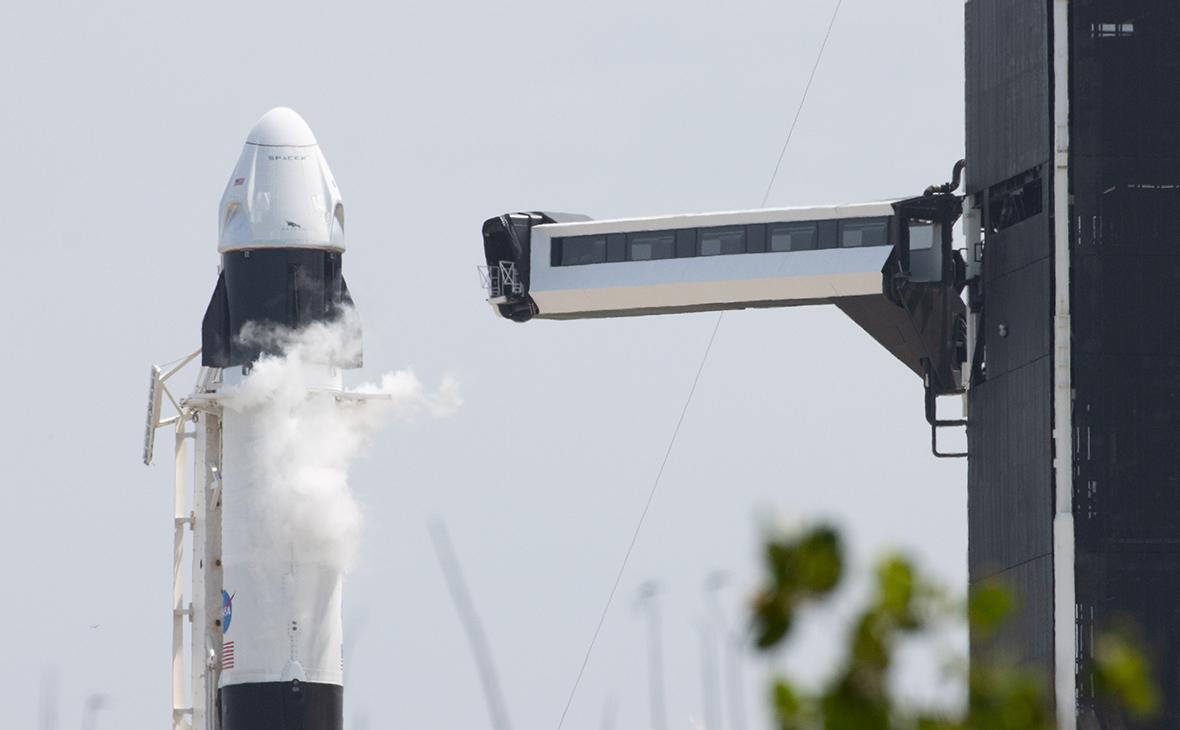 Ракета «SpaceX Falcon-9» и капсула космического корабля «Crew Dragon»
