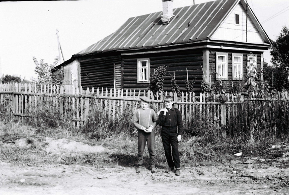 Покровское, Школьная улица.1968–1970 годы