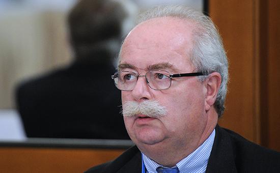 Глава французской нефтегазовой корпорации Total Кристоф де Маржери на 25-м пленарном заседании Консультативного совета по иностранным инвестициям