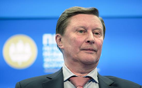 Глава администрации российского президента Сергей Иванов