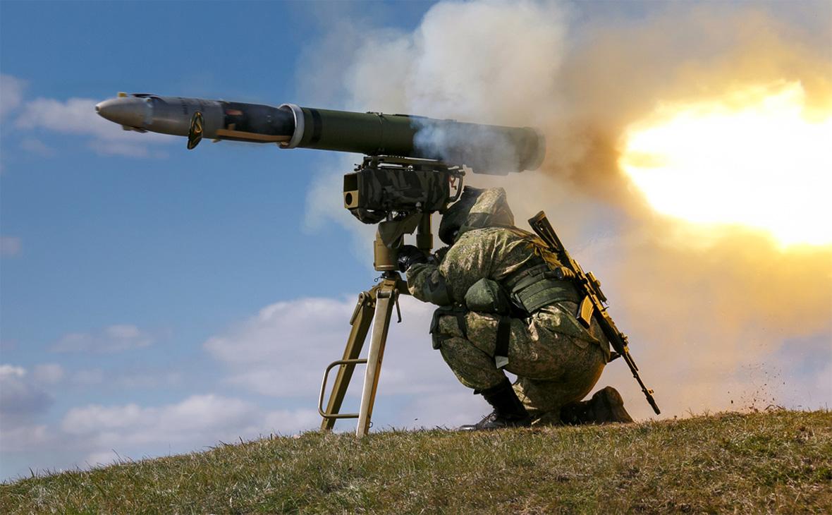 Противотанковый ракетный комплекс «Корнет»