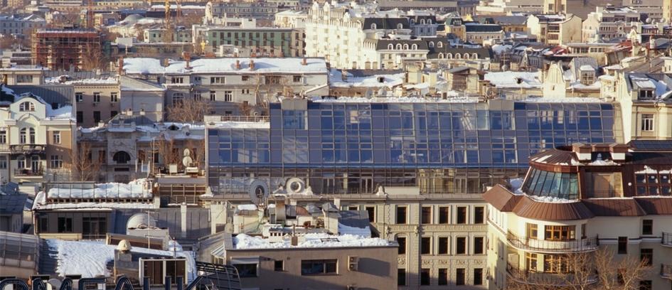 Из портфолио АБ «Остоженка»: жилой комплекс в 1-м Обыденском переулке. 2003 год