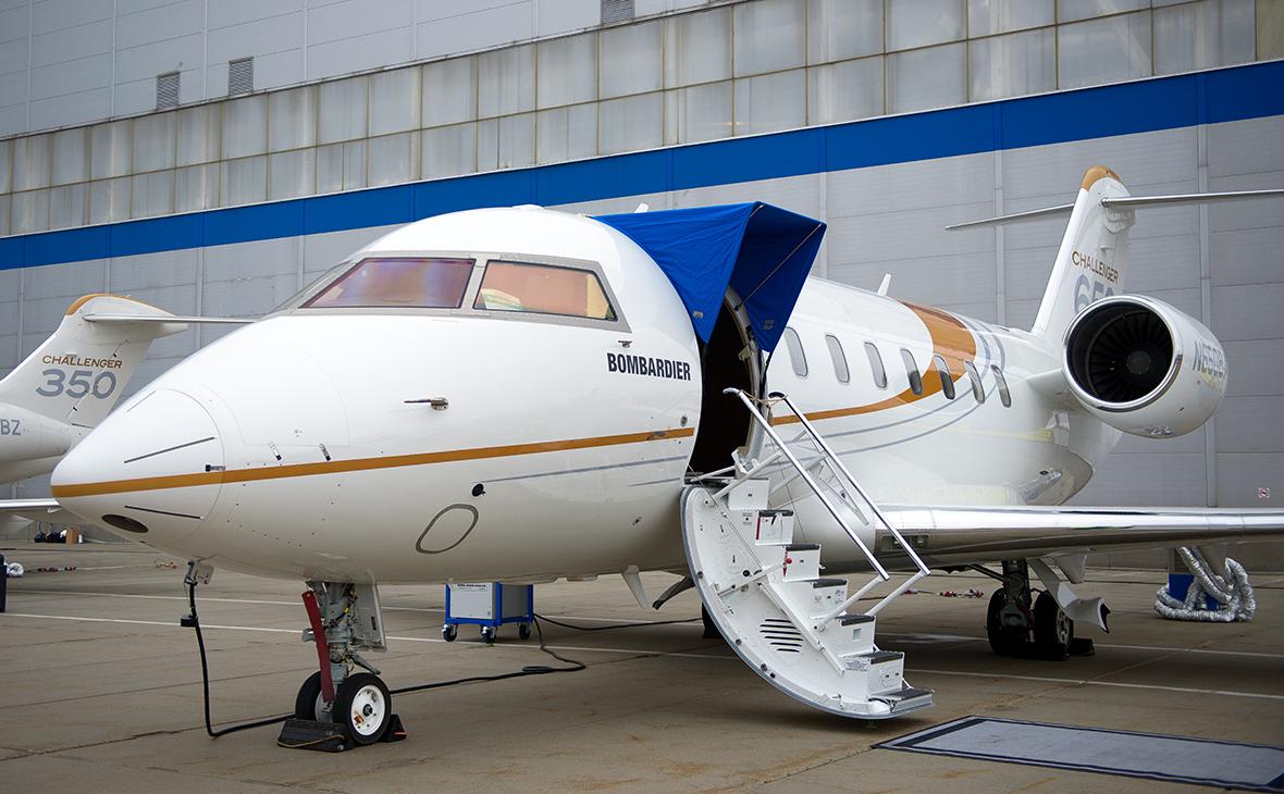 Бизнес-джет Bombardier Challenger 650