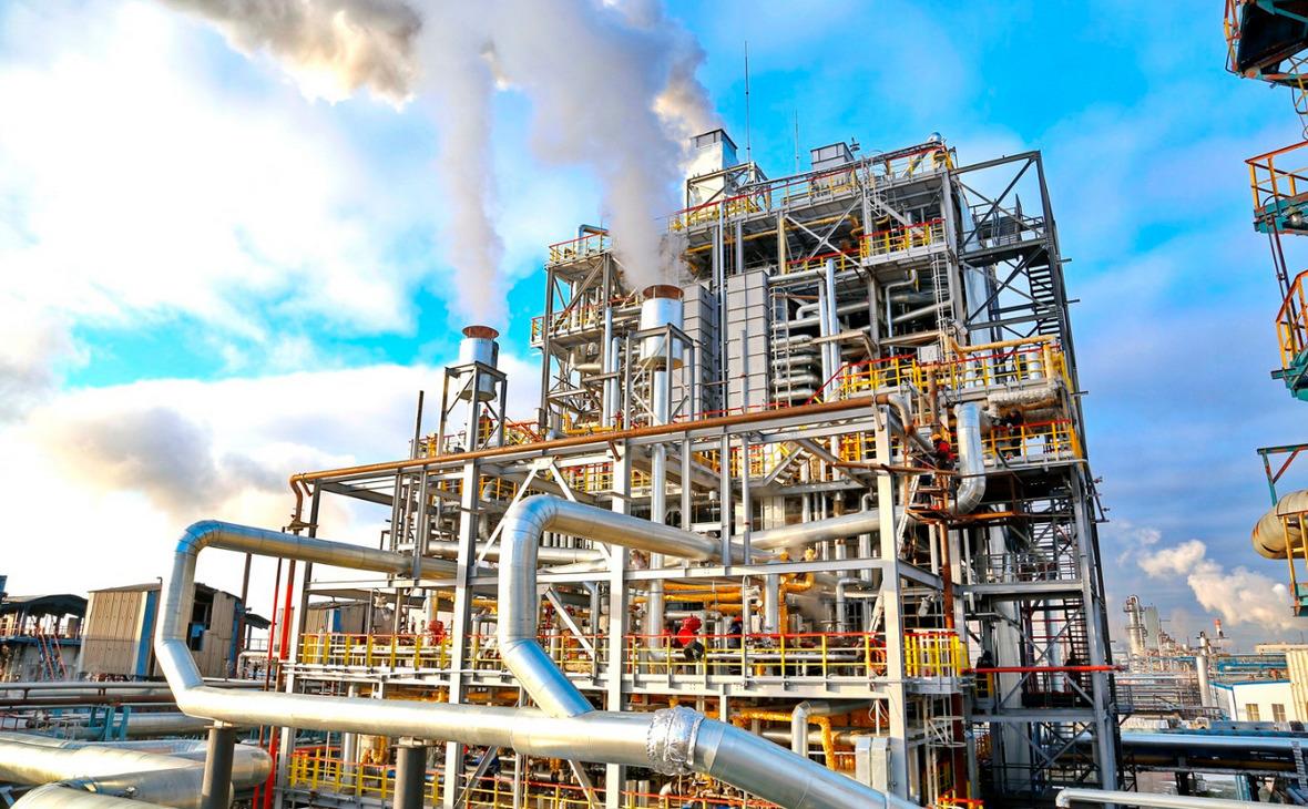 Завод этилена