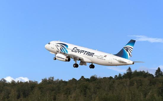 Airbus A320 авиакомпании EgyptАir